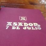 asador 7 de julio