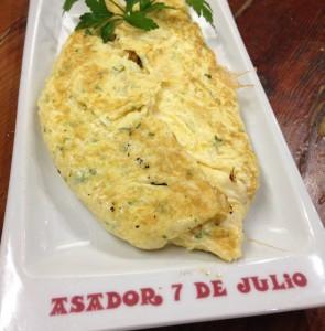 tortilla bacalao